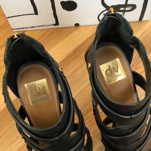 "Dolce Vita Shoes - DOLCE VITA black 4"" stilettos"